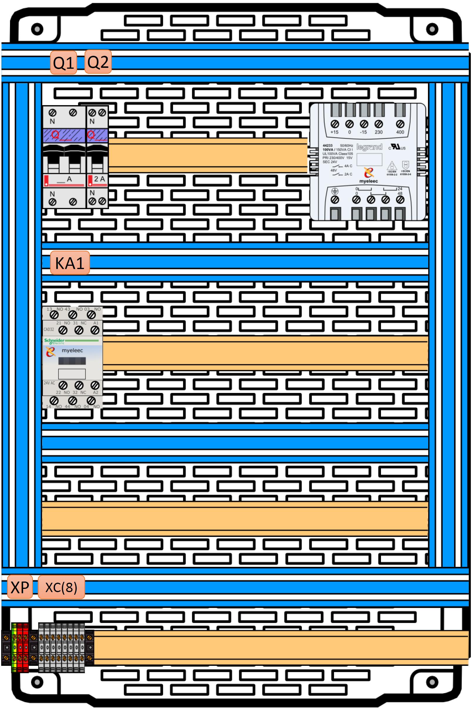01 – Réalisation du câblage «découverte industrielle»